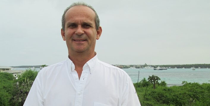 The Charles Darwin Foundation Appoints Researcher Arturo Izurieta Valery as New Executive Director