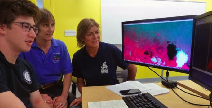 Satellite Images Donation to Help Control of Invasive Plant Species in Galapagos