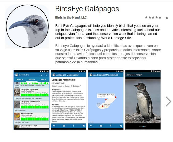 "Identifying Birds in Galapagos Has Never Been Easier with ""BirdsEye Galápagos"""