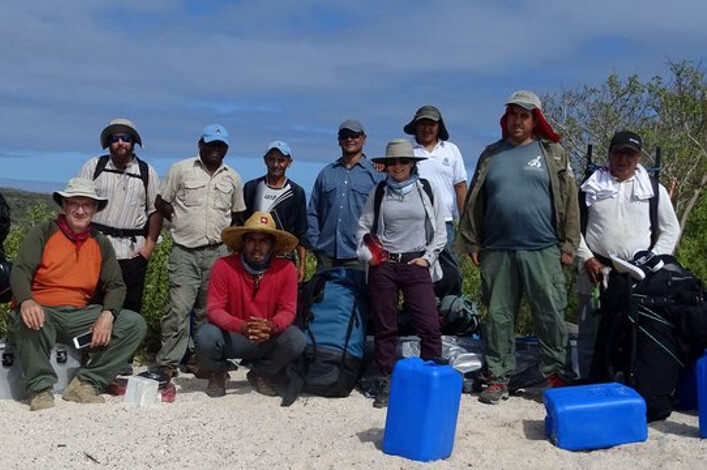 Galapagos Verde 2050 is Starting the Process of Ecological Restoration on Española Island