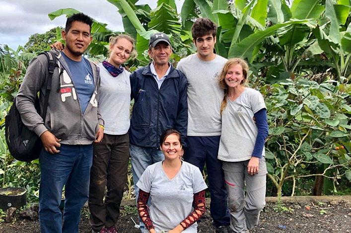 GV2050 team with Pedro Castillo, owner of another study farm from Santa Cruz