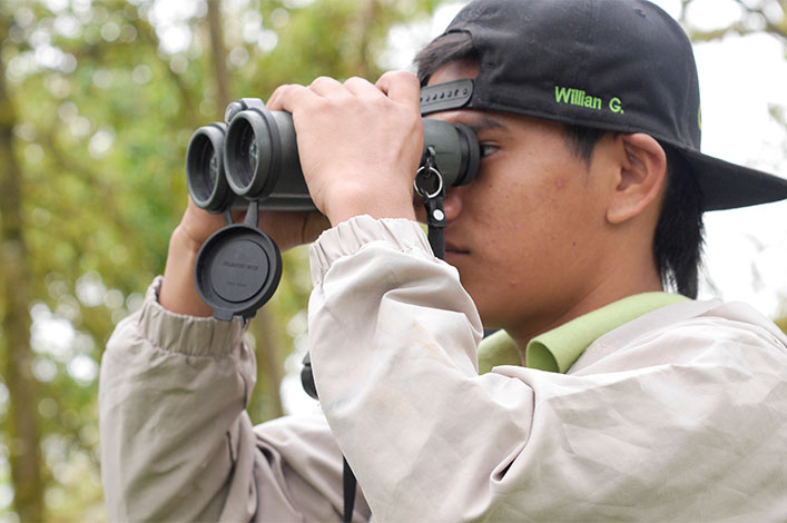 Christmas Bird Count in Galapagos