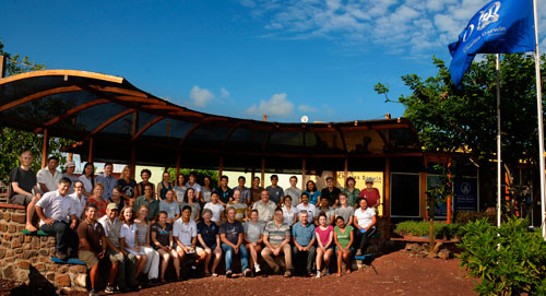 Attendees to the Workshop on Philornis Downsi in Galapagos