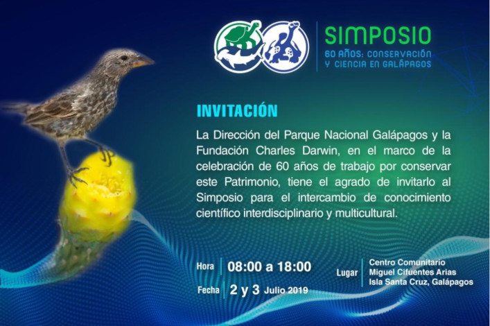 International Symposium: 60 Years of Conservation and Science in Galapagos