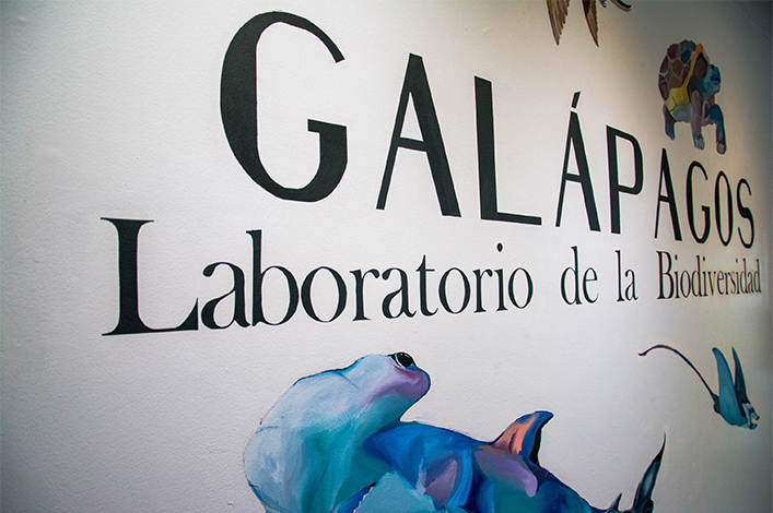 Biodiversity of Galapagos exhibited in Quito