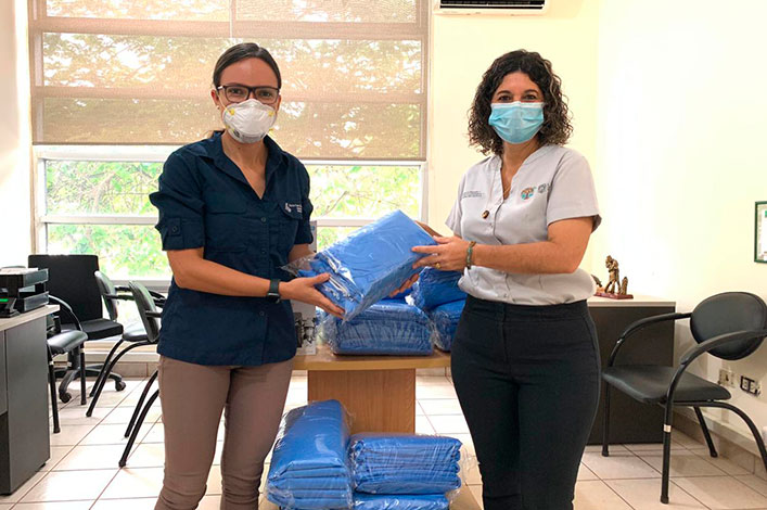 Charles Darwin Foundation Donates Masks and Protective Gear to Help in COVID-19 Fight