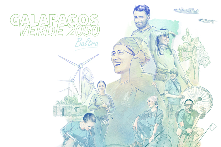 2050 is being built today: Ecological Restoration of Baltra by Galapagos Verde 2050