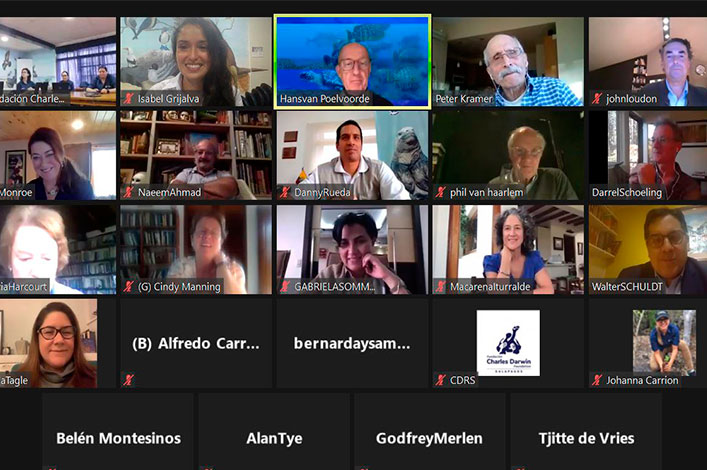 The Charles Darwin Foundation for the Galapagos Islands holds its first virtual General Assembly