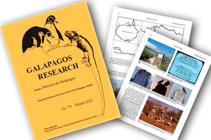 Galapagos Research issue 70